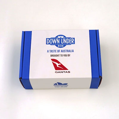 Qantas-Custom-Strap-Branding-Down-Under-Box